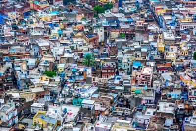 COVID-19 Cases in Dharavi
