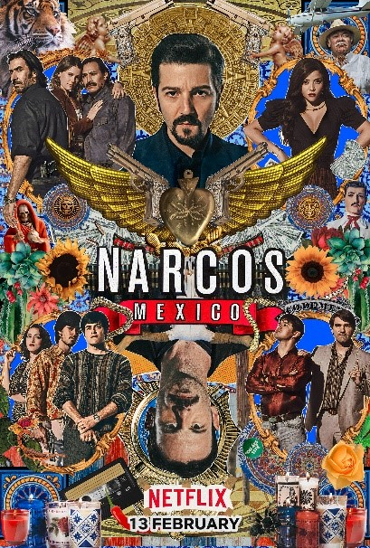 Poster for Narcos Mexico