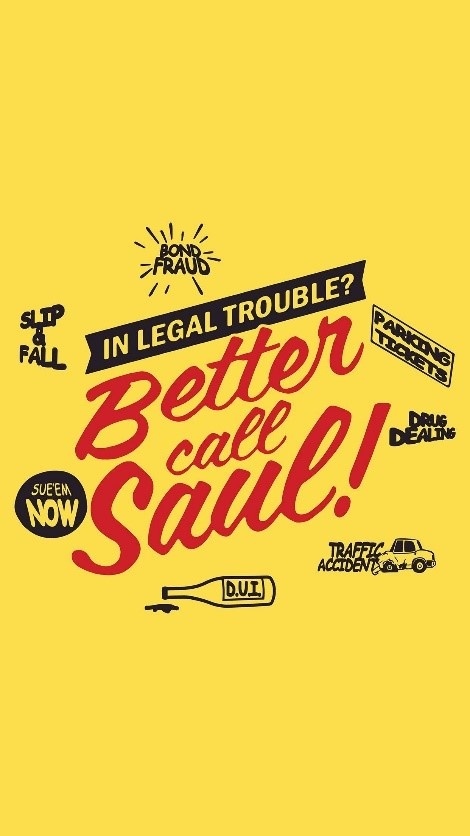 Poster for Better call Saul