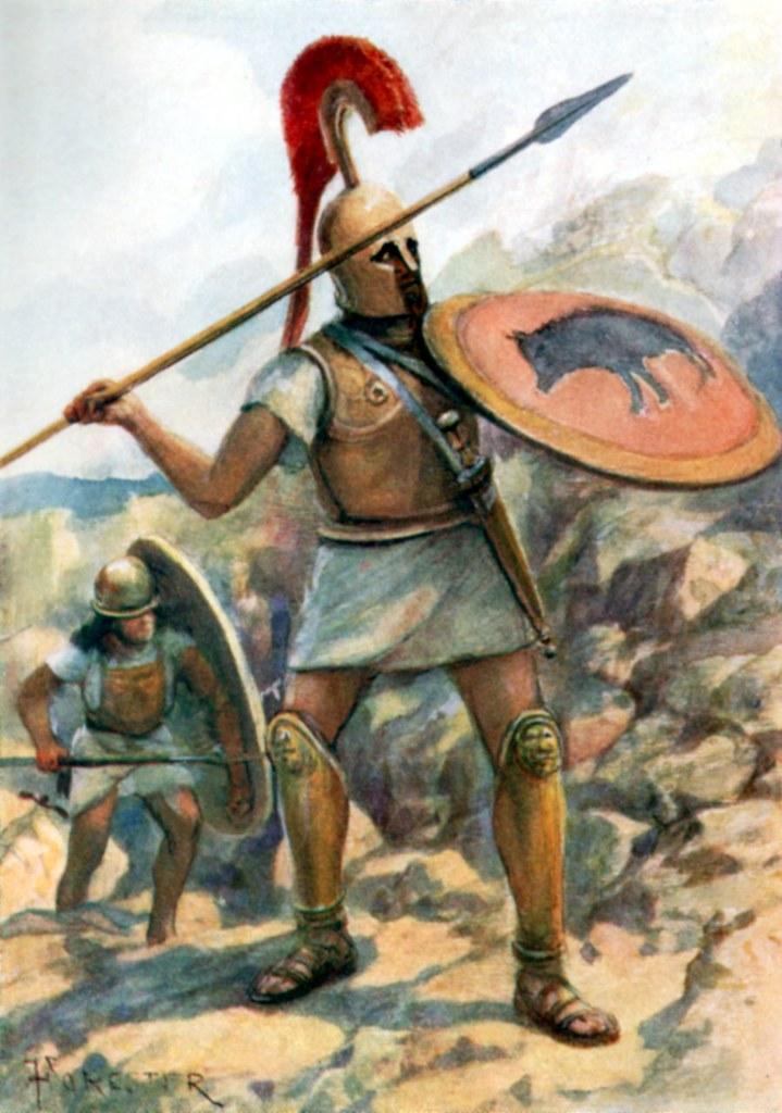 hoplite army