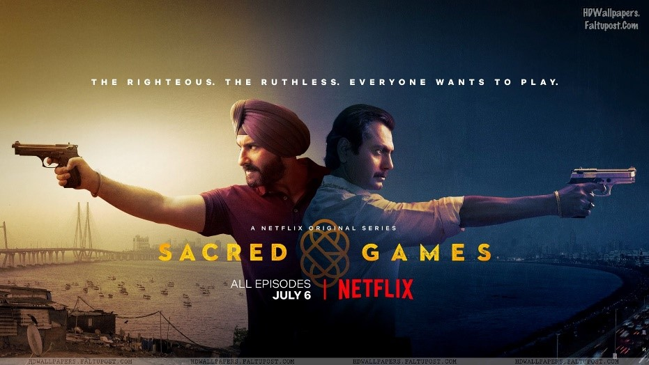 Poster for Sacred Games streaming on Netflix